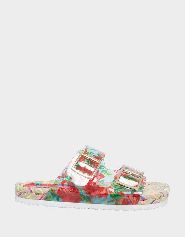 STRAUS RED MULTI - SHOES - Betsey Johnson