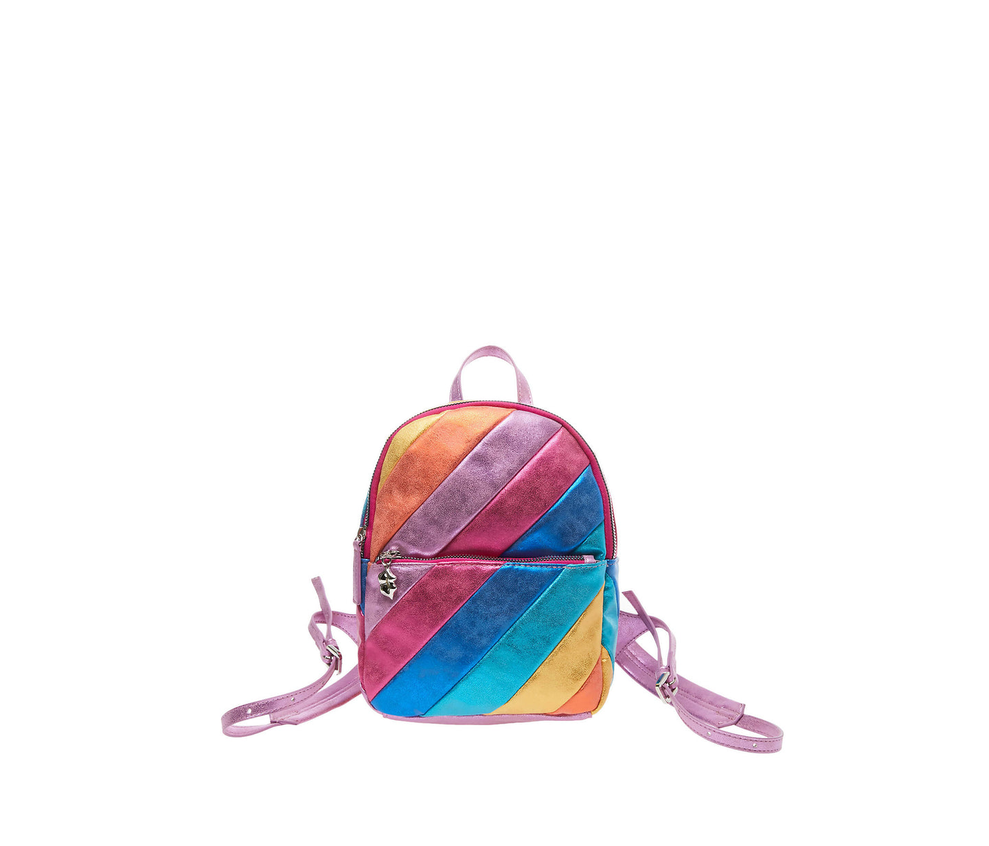 STRIPE HYPE SMALL BACKPACK MULTI - HANDBAGS - Betsey Johnson