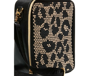 STUDLY LUNCH TOTE LEOPARD