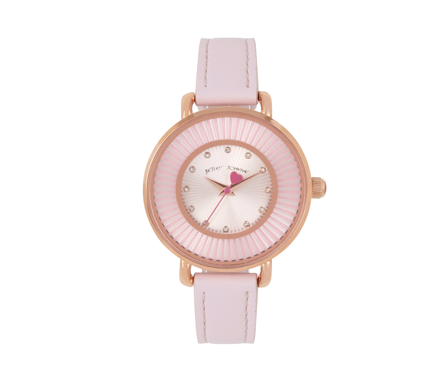 SUBTLE AND SLEEK WATCH PINK - JEWELRY - Betsey Johnson