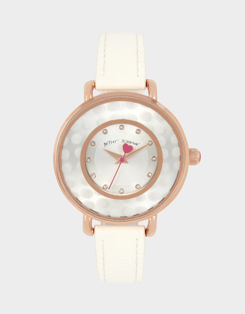 SUBTLE AND SLEEK WATCH WHITE - JEWELRY - Betsey Johnson