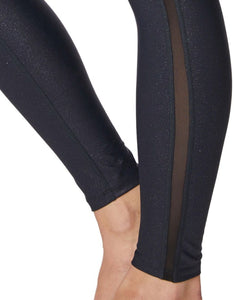 SUBTLE SPARKLE ANKLE LEGGINGS BLACK