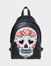 SUGAR SUGAR SKULL BACKPACK MULTI - HANDBAGS - Betsey Johnson