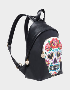 SUGAR SUGAR SKULL BACKPACK MULTI
