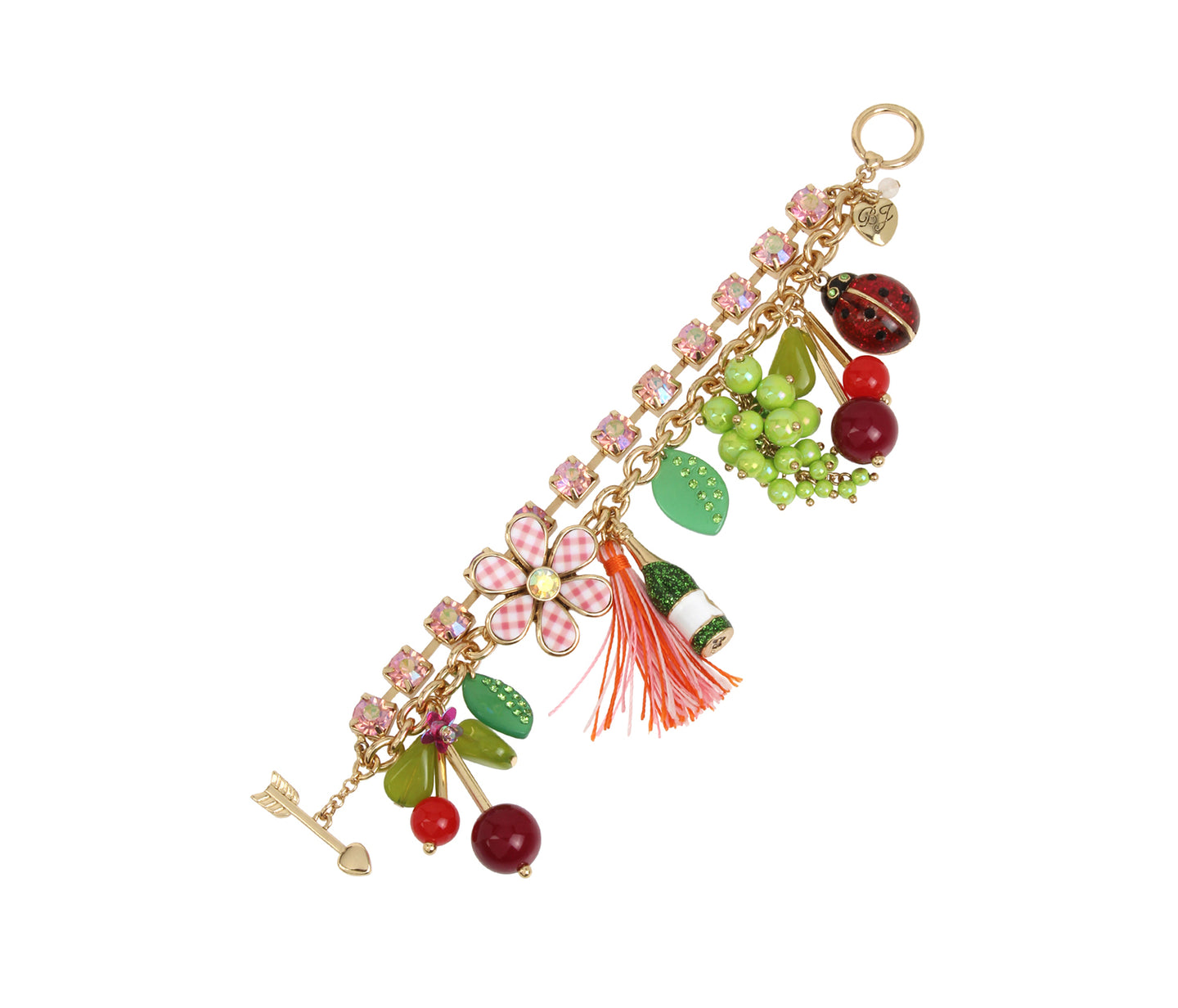 SUMMER PICNIC CHARM BRACELET MULTI - JEWELRY - Betsey Johnson