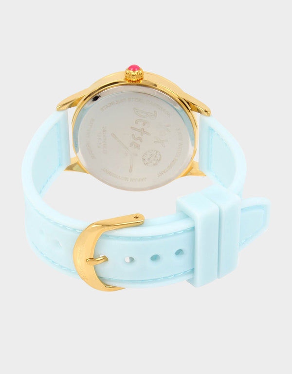 SUMMERTIME SILICONE WATCH BLUE - JEWELRY - Betsey Johnson