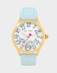 SUMMERTIME SILICONE WATCH BLUE
