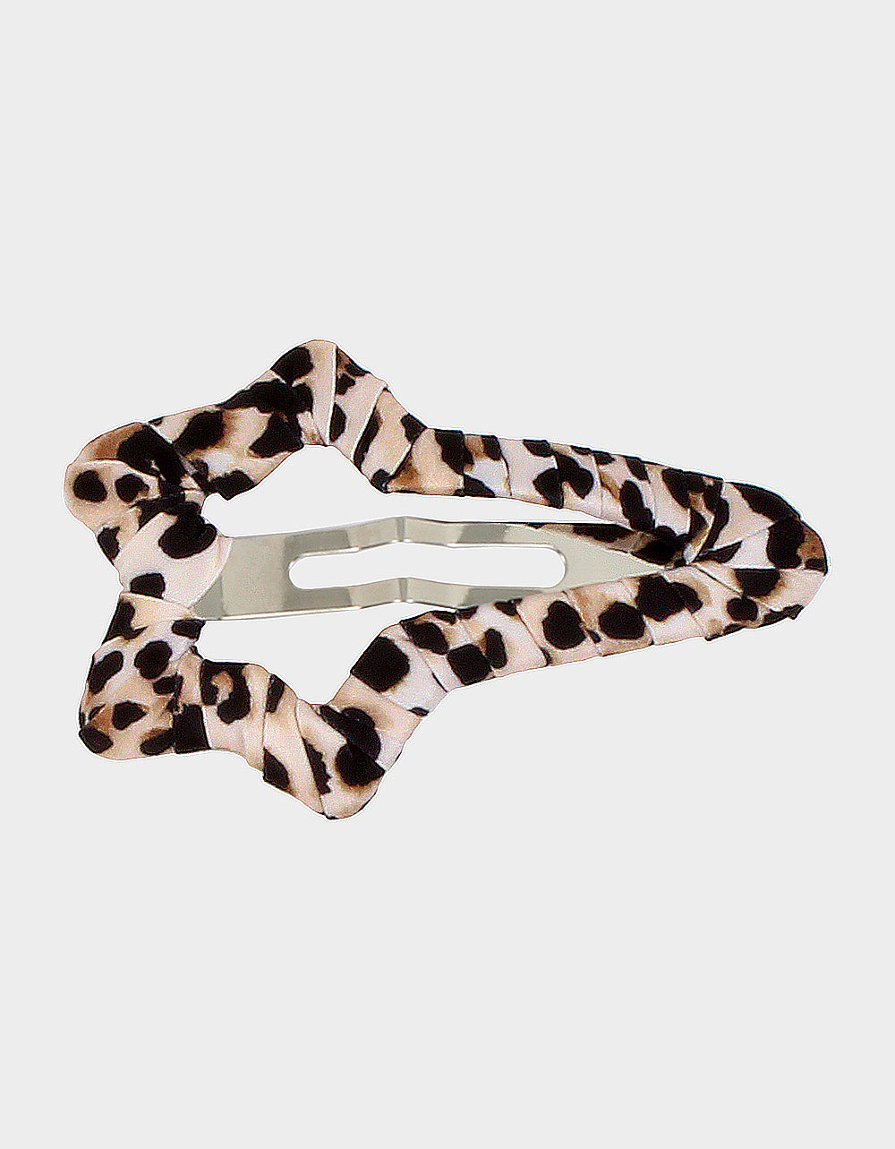 SUPERSTAR BETSEY HAIR CLIP LEOPARD - JEWELRY - Betsey Johnson