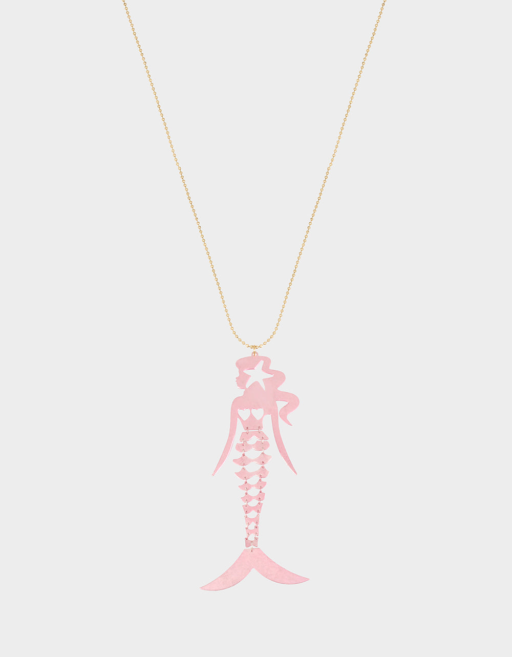 SURFMAID LONG PENDANT PINK - JEWELRY - Betsey Johnson