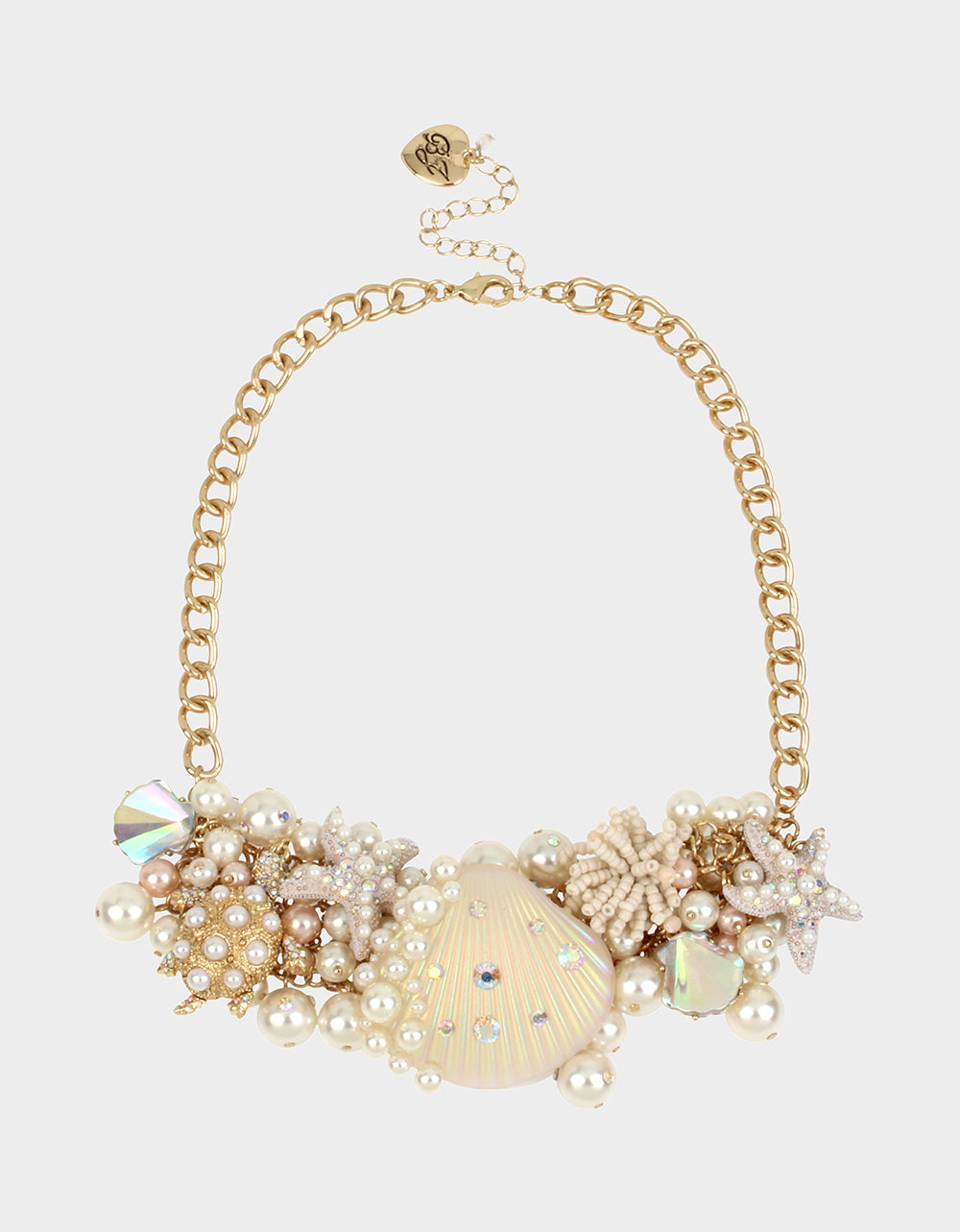 SURFMAID STATEMENT NECKLACE PINK - JEWELRY - Betsey Johnson