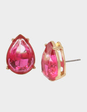 SURFMAID TEARDROP STUD EARRINGS PINK - JEWELRY - Betsey Johnson