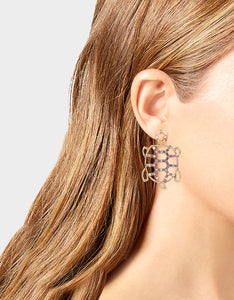 SURFMAID TURTLE OPENWORK EARRINGS PINK