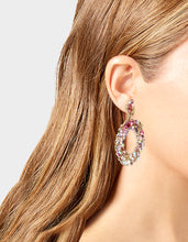 SURFMAID WREATH EARRINGS PINK - JEWELRY - Betsey Johnson