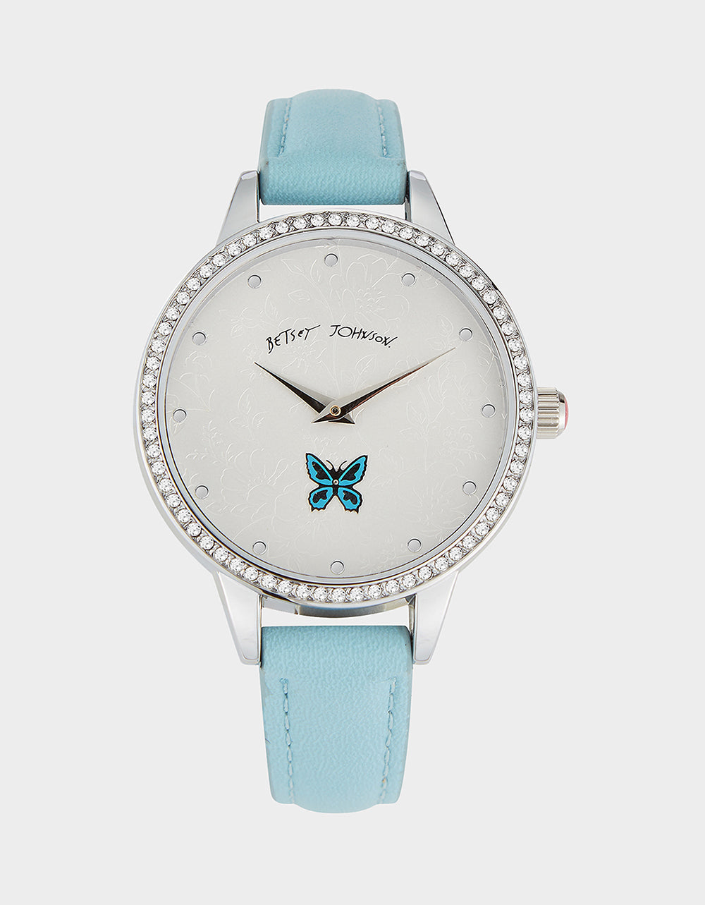 SWEEPING ICONS WATCH BLUE - JEWELRY - Betsey Johnson