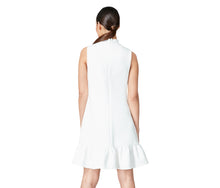 SWEET CONFECTION TIE NECK DRESS IVORY - APPAREL - Betsey Johnson