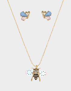 SWEETNESS AND LIGHT BEE SET CRYSTAL