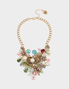 SWEETNESS AND LIGHT DRAMA NECKLACE MULTI