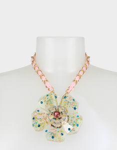 SWEETNESS AND LIGHT FLOWER NECKLACE MULTI