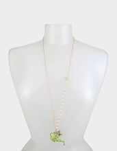 SWEETNESS AND LIGHT WATERING CAN NECKLACE GREEN - JEWELRY - Betsey Johnson