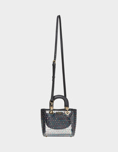 TAKE ME TO THE PROM TOP HANDLE BAG BLACK MULTI