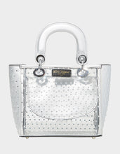 TAKE ME TO THE PROM TOP HANDLE BAG SILVER - HANDBAGS - Betsey Johnson