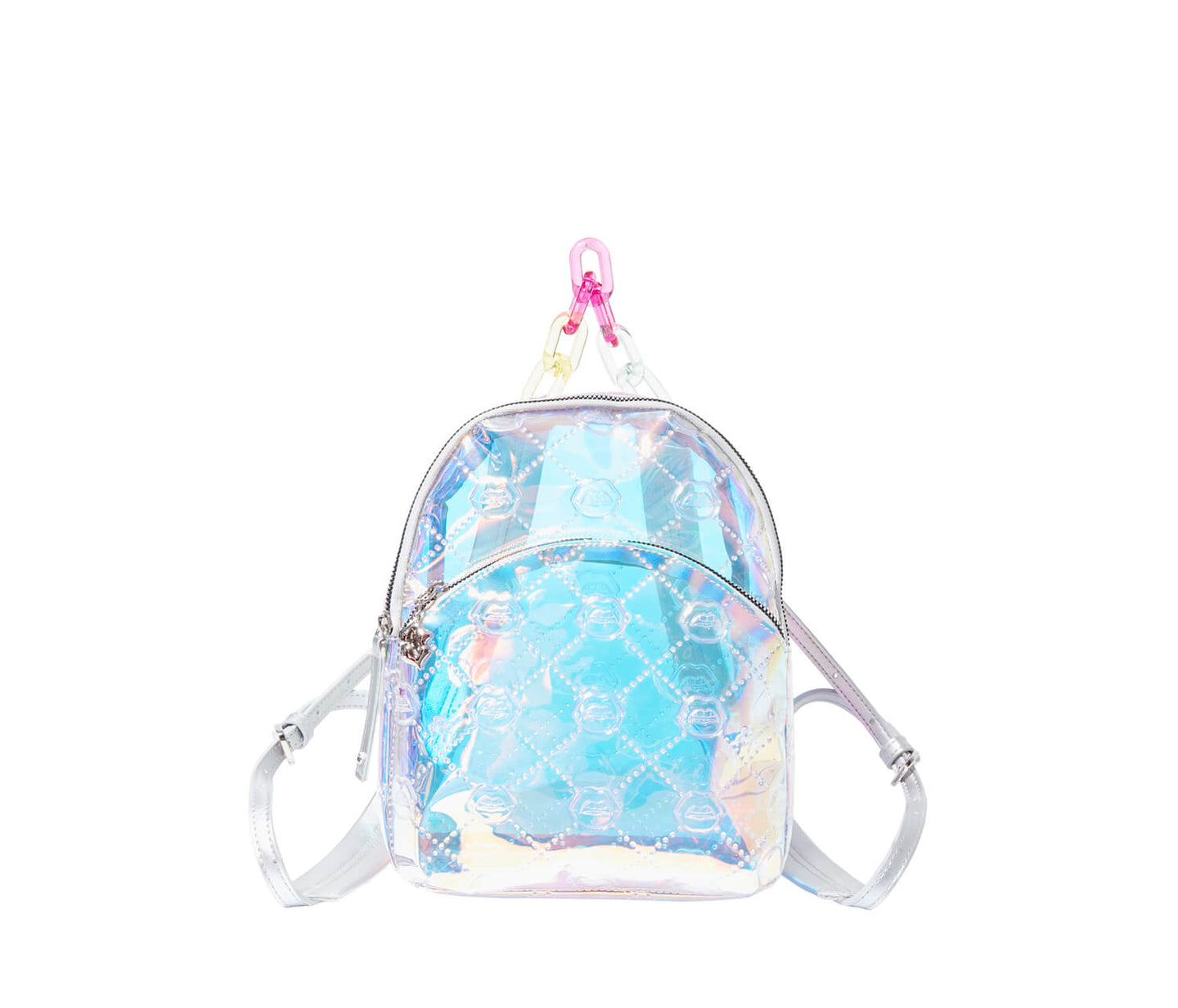 THE FUTURE IS HERE MINI BACKPACK CLEAR - HANDBAGS - Betsey Johnson