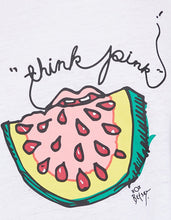 THINK PINK WATERMELON SWING TANK WHITE - APPAREL - Betsey Johnson