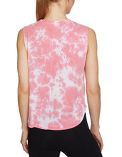TIE DYE MUSCLE TANK PINK - APPAREL - Betsey Johnson