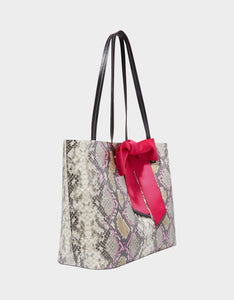 TIE THE KNOT TOTE SNAKE