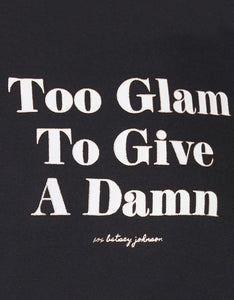 TOO GLAM SWEATSHIRT BLACK