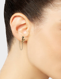 TORTIFLY BEE MISMATCH EARRINGS GOLD