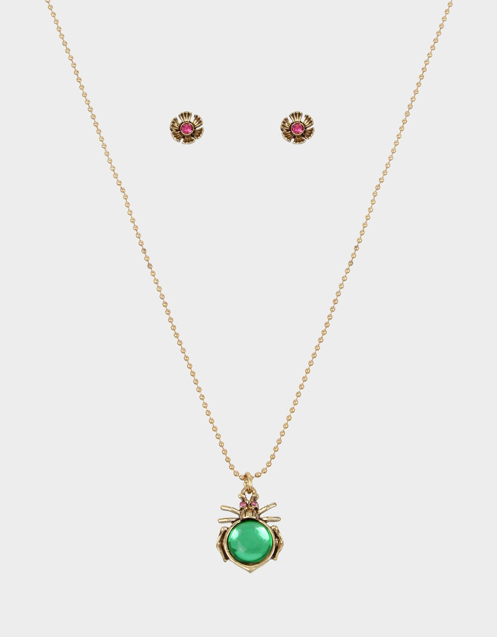 TORTIFLY BUG SET GREEN - JEWELRY - Betsey Johnson