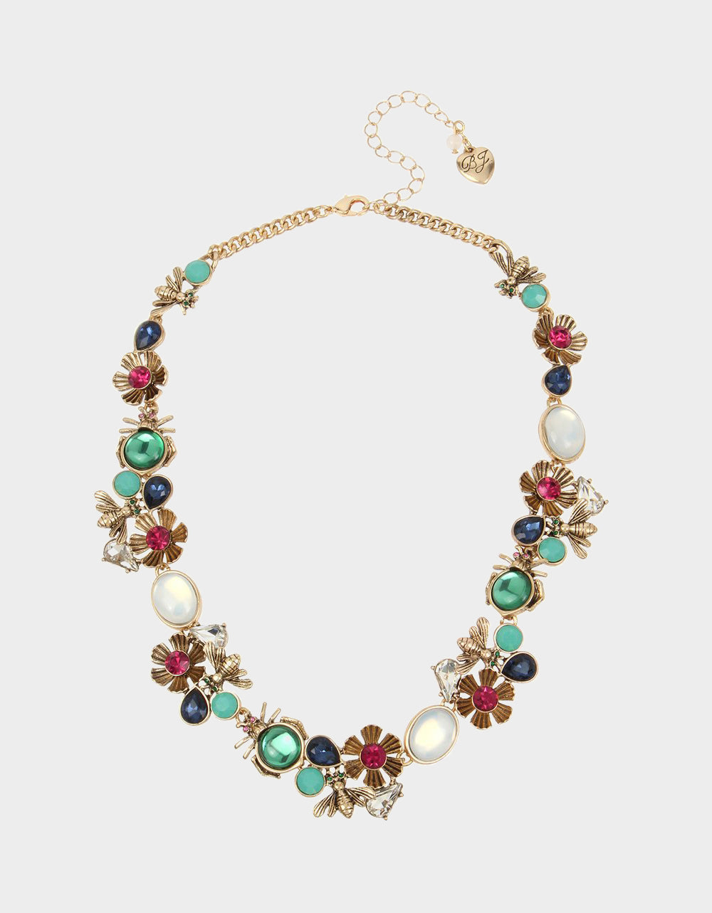 TORTIFLY STATEMENT COLLAR MULTI - JEWELRY - Betsey Johnson