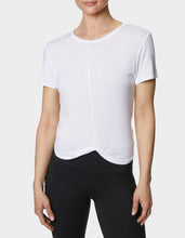 TWIST AND SHOUT CROP TEE WHITE - APPAREL - Betsey Johnson