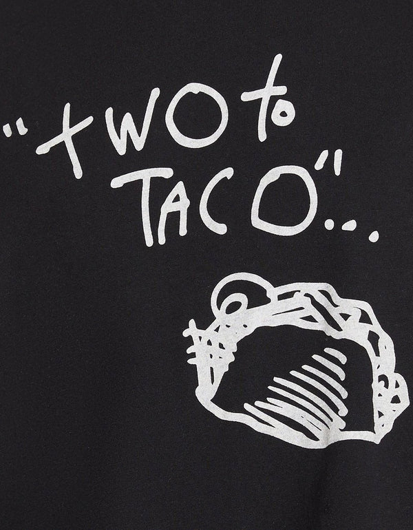 TWO TO TACO MUSCLE SWING TANK BLACK - APPAREL - Betsey Johnson