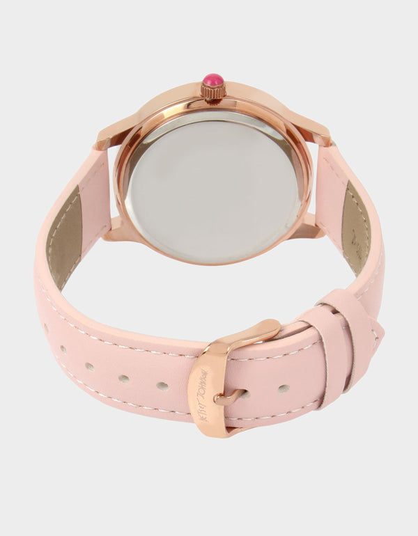 UNICORN KITTY WATCH ROSE GOLD -  - Betsey Johnson