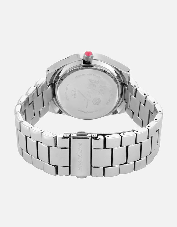 UP IN SPACE BEAR WATCH SILVER - JEWELRY - Betsey Johnson