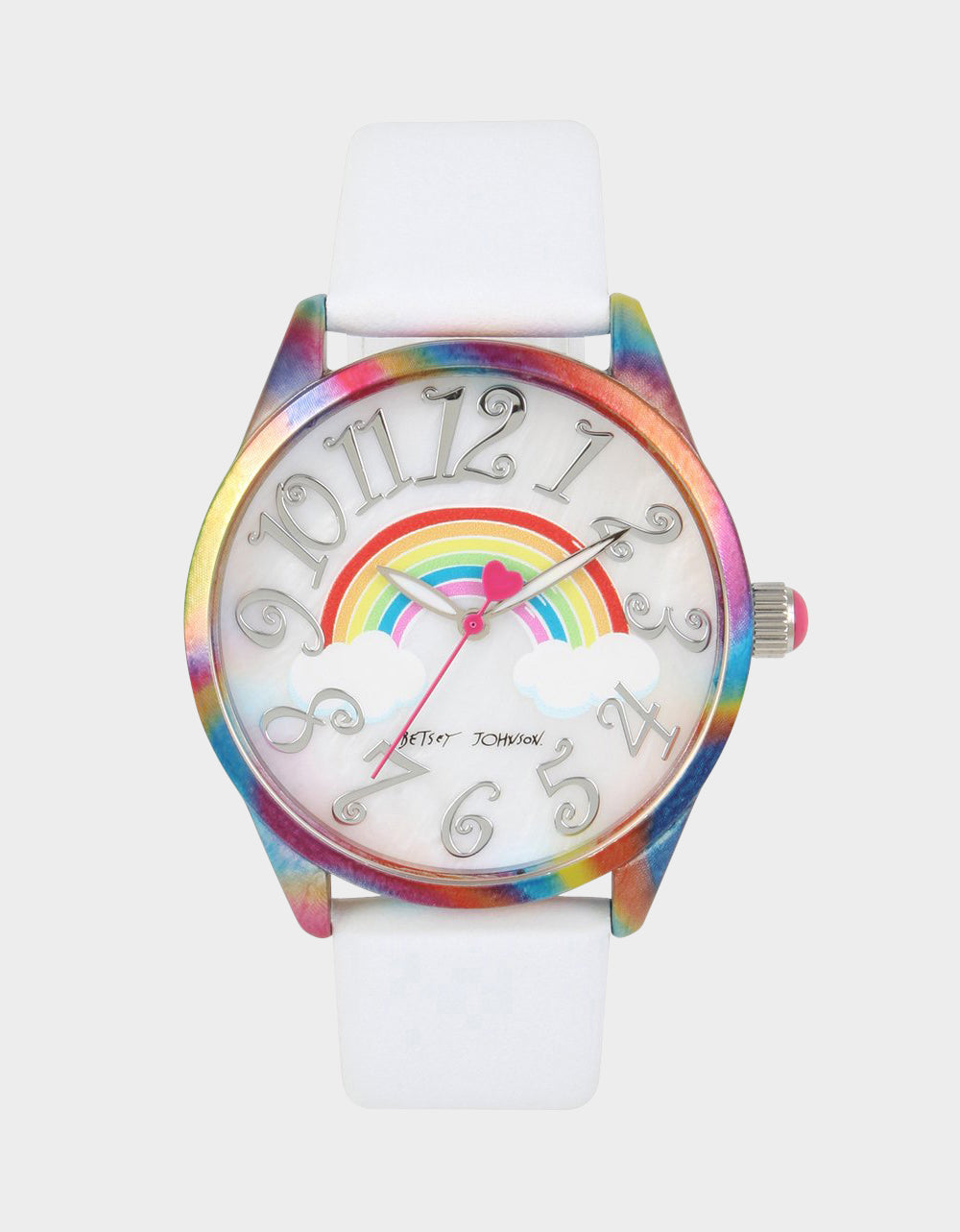 UP IN THE CLOUDS RAINBOW WATCH RAINBOW MULTI - JEWELRY - Betsey Johnson