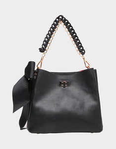 VANITY BUCKET BAG BLACK