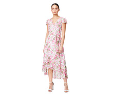 VINTAGE BETSEYS ROSE WRAP DRESS FLORAL - APPAREL - Betsey Johnson