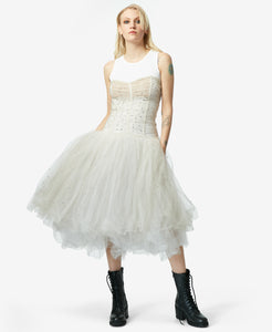 BJ VINTAGE BELLE OF THE BALL DRESS IVORY