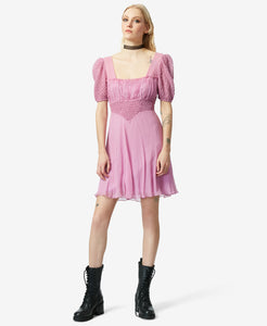 BJ VINTAGE RETRO PINK DRESS PINK