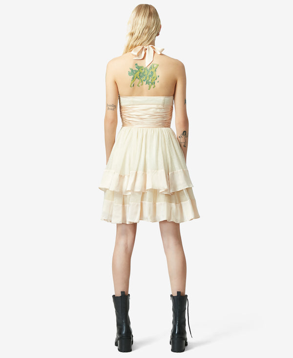 BJ VINTAGE SUGAR AND SPICE DRESS IVORY - VINTAGE - Betsey Johnson