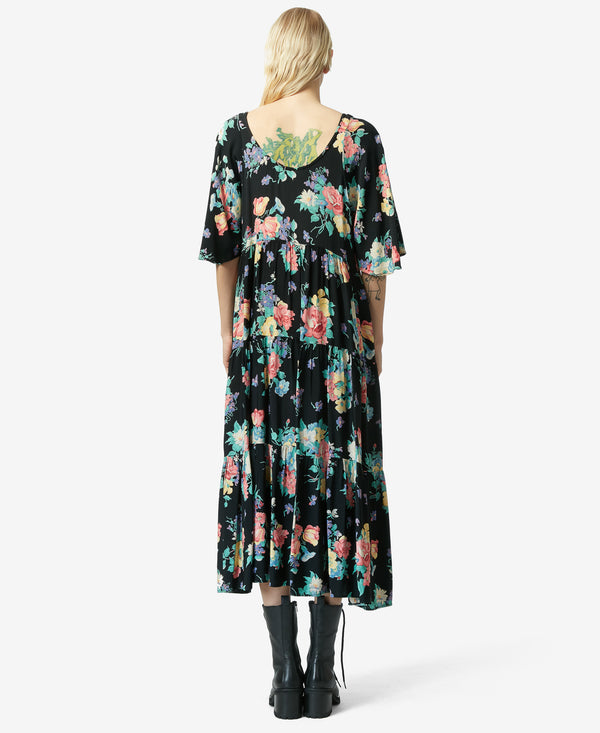 BJ VINTAGE BOHO DREAM DRESS MULTI - VINTAGE - Betsey Johnson