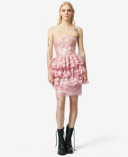 BJ VINTAGE RUFFLES GALORE DRESS PINK - VINTAGE - Betsey Johnson