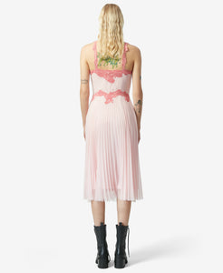BJ VINTAGE WHISPER SLIP DRESS PINK