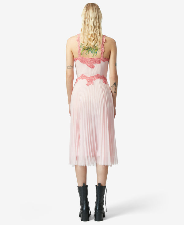 BJ VINTAGE WHISPER SLIP DRESS PINK - VINTAGE - Betsey Johnson