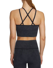 WAFFLED MESH SEAMLESS BRA BLACK - APPAREL - Betsey Johnson
