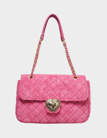 WALK THE WALK SHOULDER BAG PINK