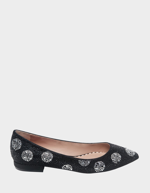 WEBB BLACK-WHITE - SHOES - Betsey Johnson